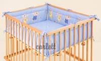 Hrací deka do dětské ohrádky Honzík - JIŘÍK modrá Scarlett