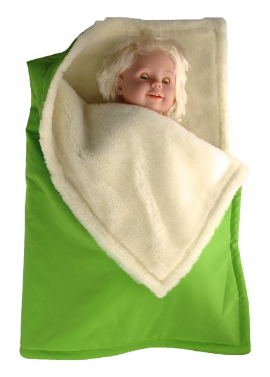 Kaarsgaren zimní deka zelená merino softshell