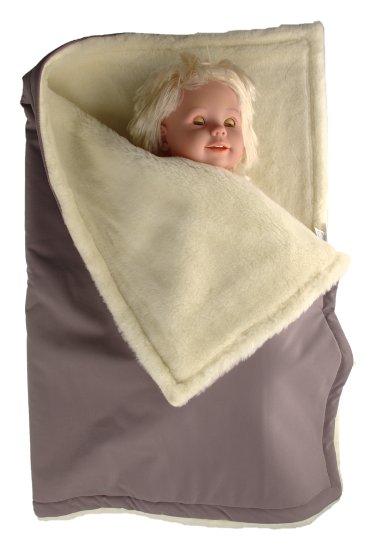 Kaarsgaren zimní deka šedá merino softshell